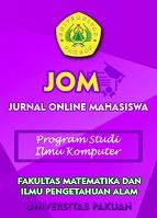 Jurnal Online Mahasiswa Jom Bidang Ilmu Komputer Informatika