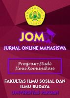 Jurnal Online Mahasiswa Jom Bidang Ilmu Komunikasi