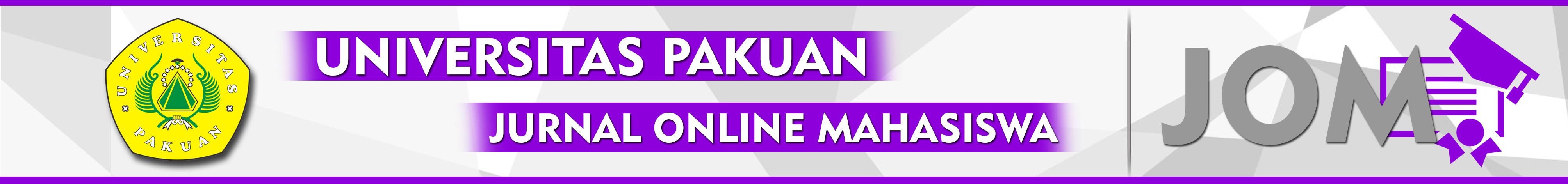JURNAL ONLINE MAHASIWA PAKUAN